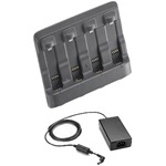 Zebra 4 BAY SPARE BATTERY CHARGER KIT INCL. PWR NO LINE CORD           IN