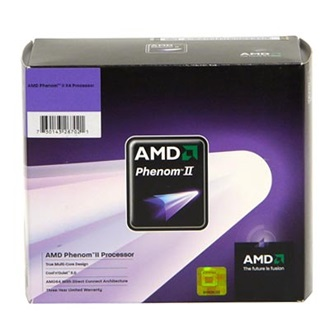 AMD Phenom II X4 945 CPU (sAM3) BOX processzor