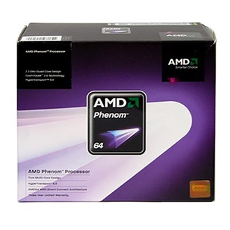 AMD Phenom X4 9650 (sAM2/AM2+) BOX processzor