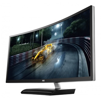 "AOC C3583FQ/BS 35"" ívelt LED gamer monitor fekete"