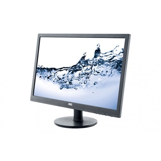 "AOC E2460SH 24"" TN LED monitor fekete"