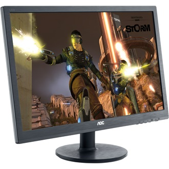 "AOC G2460FQ 24"" TN LED monitor fekete"