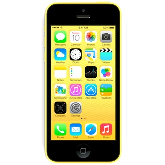APPLE iPhone 5C 16GB okostelefon sárga