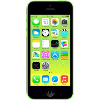 APPLE iPhone 5C 16GB okostelefon zöld