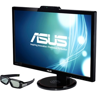 "Asus VG278HR 27"" TN LED 3D monitor fekete"