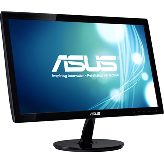 "Asus VS207DE 19.5"" LED monitor fekete"