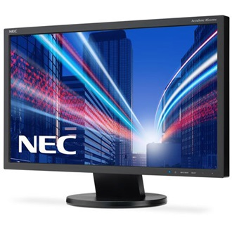 "NEC AS222WM 21.5"" TN LED monitor fekete"