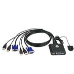 Aten CS22U 2 portos USB2.0 KVM switch