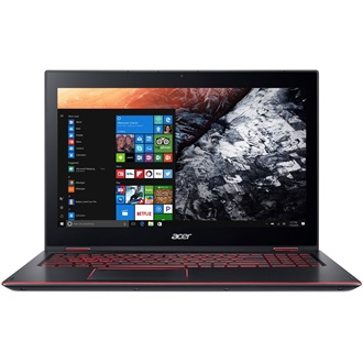 Acer Nitro 5 Spin NP515-51-87HH gaming notebook fekete