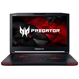 Acer Predator G9-593-73U7 gaming notebook fekete