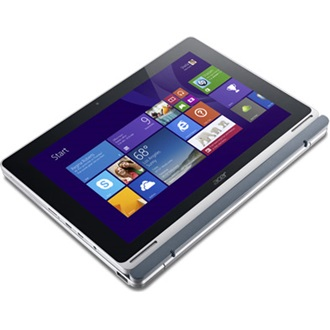 Acer Tablet Aspire Switch 10 (NT.L4SEU.021) 64GB + 500 GB tablet, Iron-Silver (Windows 8.1)