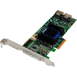 Adaptec 6805E PCI-E x4 - 8 portos SAS/SATA RAID vezérlő Single pack