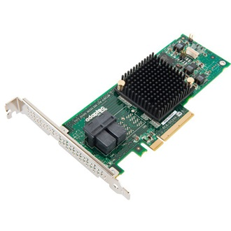 Adaptec 7085 PCI-E x8 - 8 portos SAS/SATA Host Bus Adapter Single pack