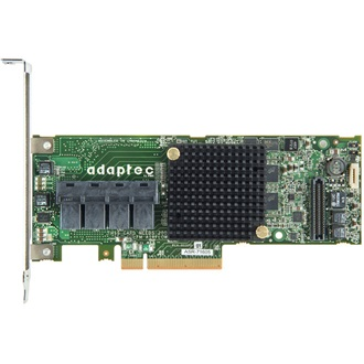 Adaptec 71605 PCI-E x8 - 16 portos SAS/SATA RAID vezérlő Single pack