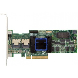Adaptec 6805T PCI-E x8 - 8 portos SAS/SATA RAID vezérlő Single pack