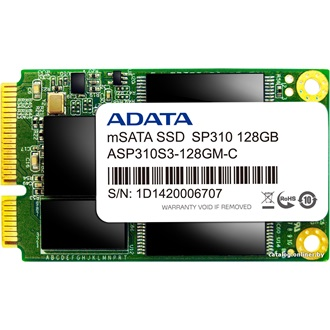 Adata SSD SP310 128GB mSATA SATA2  MLC BOX