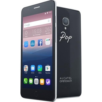 Alcatel Pop Up 16GB Dual SIM okostelefon fekete