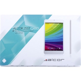 "Alcor Zest Q880I 8"" 8GB tablet fehér"