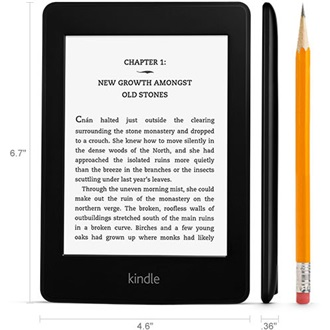 "Amazon Kindle Paperwhite 2 (sponsored) 6"" E-Ink e-book olvasó fekete"