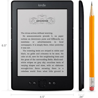 "Amazon Kindle 5 6"" E-Ink e-book olvasó fekete"
