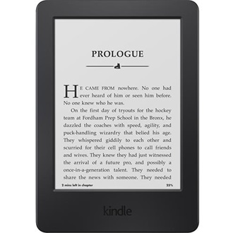 "Amazon Kindle (sponsored) 6"" E-Ink e-book olvasó fekete"
