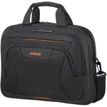 "American Tourister At Work Laptop Bag 15,6"" Black-Orange"