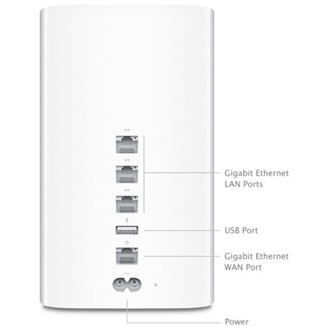 Apple AirPort Time Capsule 3TB NAS
