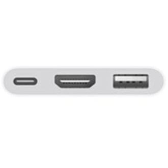 Apple Digital AV Multiport USB C -> HDMI USB C USB A M/F adapter 0.15m fehér