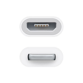 Apple Lightning -> USB micro B adapter
