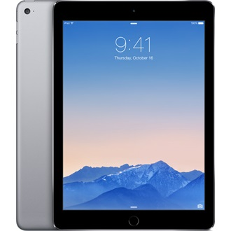 "Apple iPad Air 2 cellular 9.7"" 16GB 4G tablet fekete-szürke"