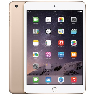 "Apple iPad Mini 3 7.9"" 64GB tablet fehér-arany"