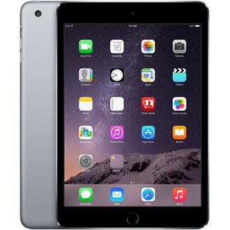 "Apple iPad Mini 3 cellular 7.9"" 64GB 4G tablet fekete-szürke"