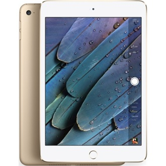 "Apple iPad Mini 4 cellular 7.9"" 128GB 4G/LTE tablet fehér-arany"