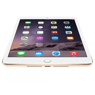 "Apple iPad Mini 3 7.9"" 16GB tablet fehér-arany"