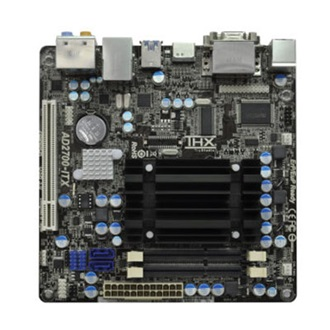 ASROCK AD2700B-ITX INFRARED DRIVERS MAC