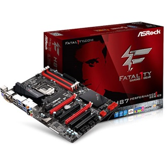ASROCK H87 PERFORMANCE desktop alaplap