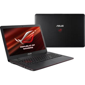 Asus G551VW-FW277D notebook fekete