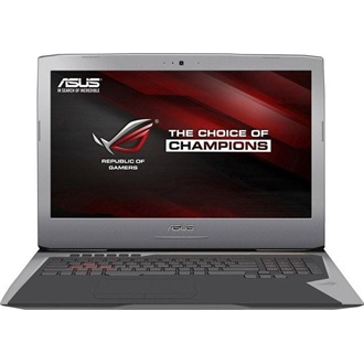 Asus G752VY-GB463T gaming notebook szürke