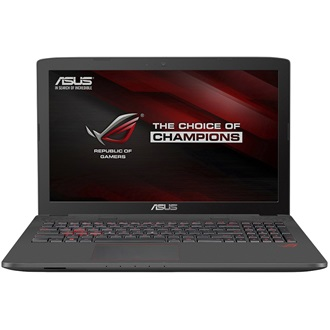 Asus ROG GL752VW-T4207D gaming notebook szürke