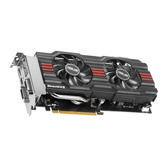 ASUS Geforce GTX660 DC2 2GB GDDR5 192bit PCI-E x16