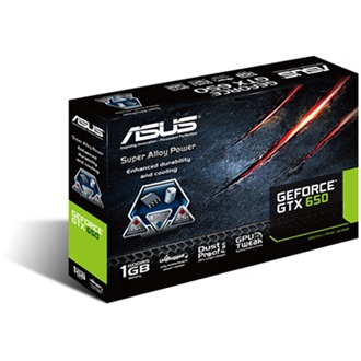 ASUS Geforce GTX650 1GB GDDR5 128bit PCI-E x16
