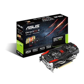 ASUS Geforce GTX760 DC2T 2GB GDDR5 256bit PCI-E x16