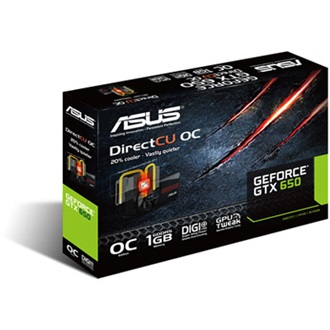 ASUS Geforce GTX650 Ti DCO 1GB GDDR5 128bit PCI-E x16