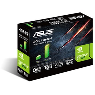 Asus Geforce GT630 Silent 1GB GDDR3 64bit PCI-E x8