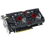 Asus GeForce GTX 950 STRIX DC2 Gaming 2GB GDDR5 128bit grafikus kártya