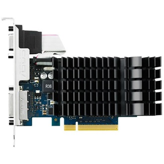 Asus GeForce GT 720 Silent 1GB GDDR3 64bit low profile grafikus kártya