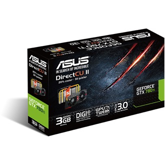 Asus GeForce GTX 780 Ti 3GB GDDR5 384bit PCI-E x16