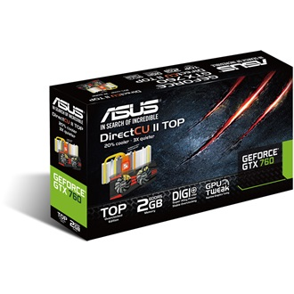 Asus Geforce GTX760 DC2 2GB GDDR5 256bit PCI-E x16