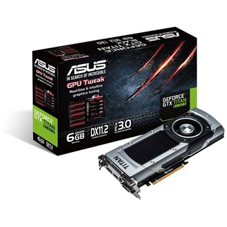Asus Geforce GTX TITAN BLACK 6GB GDDR5 384bit PCI-E x16