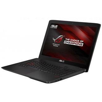 Asus ROG GL552VW-CN517D gamer notebook fekete